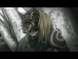 This guy's giving Ryuk some competition for ugliness