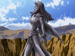 Shizuru's a statue