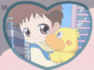 The shota may be even cute than the duck